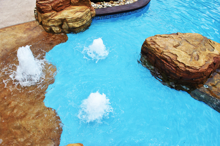 Laminar Sheer Descent Water Features World Class Pools